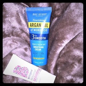Blow Dry Smoothing Cream & Heat Protectant Bundle